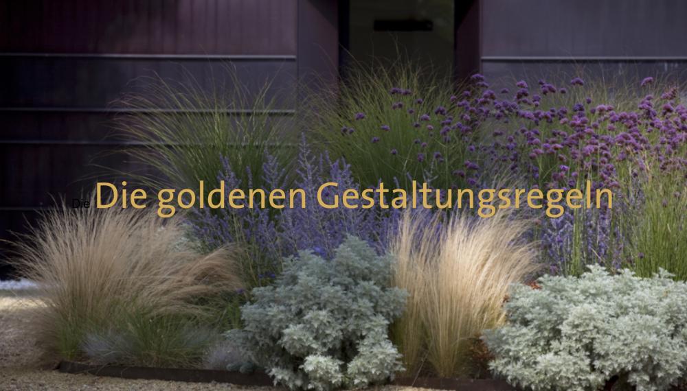Die goldenen Gestaltungsregeln